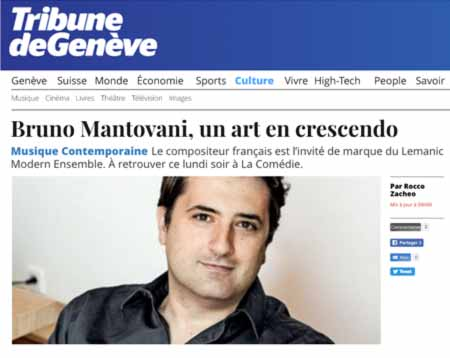 Bruno Mantovani, un art en crescendo