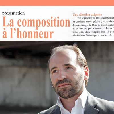 dirigées par le chef d'orchestre et violoniste Pierre Bleuse