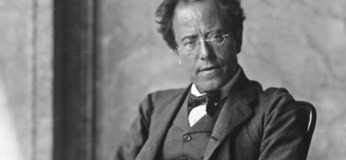 The Austrian composer Gustav Mahler. Photograph by Moriz N‰hr. 1907.