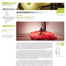http://www.anaclase.com - Fanny Ardant © marc vanappelghem | Comédie de genève