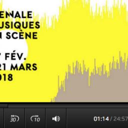 Magnétique, lundi, 17h06 Nomade à Lyon à la Biennale Musiques en Scène 1/3