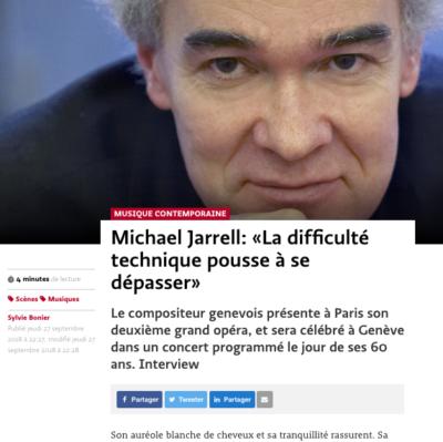 Jarrell Michael © C. Daguet / Editions Henry Lemoine